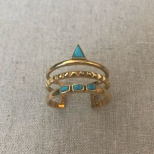 NWOT Stella & Dot Adjustable Ring